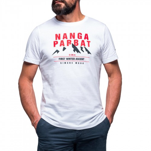 NANGA PARBAT EXPEDITION / T-shirt bianca