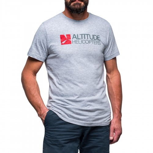 ALTITUDE HELICOPTERS / T-shirt grigia
